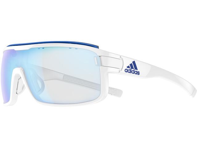 adidas Zonyk Pro Bril L, white shiny/vario blue
